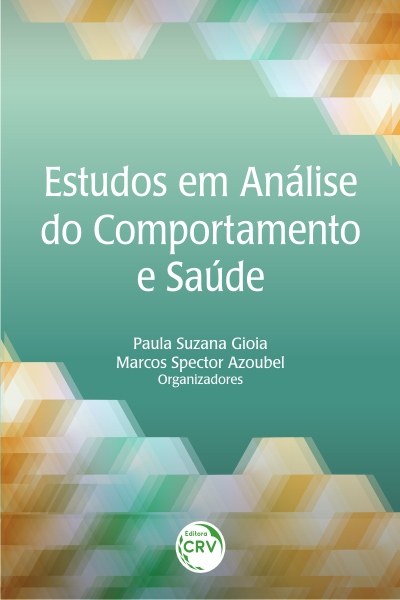 Capa do livro: ESTUDOS EM ANÁLISE DO COMPORTAMENTO E SAÚDE