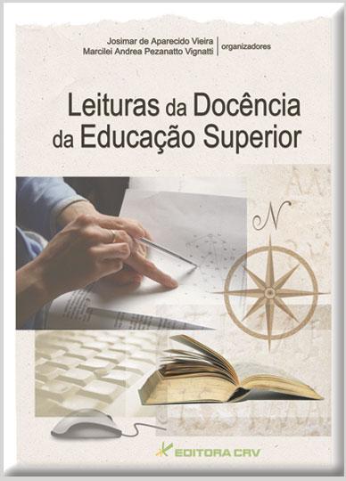 Capa do livro: LEITURAS DA DOCÊNCIA DA EDUCAÇÃO SUPERIOR