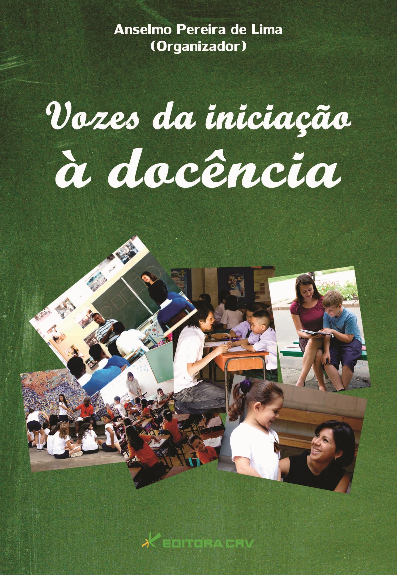 Capa do livro: VOZES DA INICIAÇÃO À DOCÊNCIA