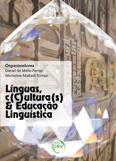Capa do livro: LÍNGUAS, C(C)ULTURA(S) E EDUCAÇÃO LINGUÍSTICA