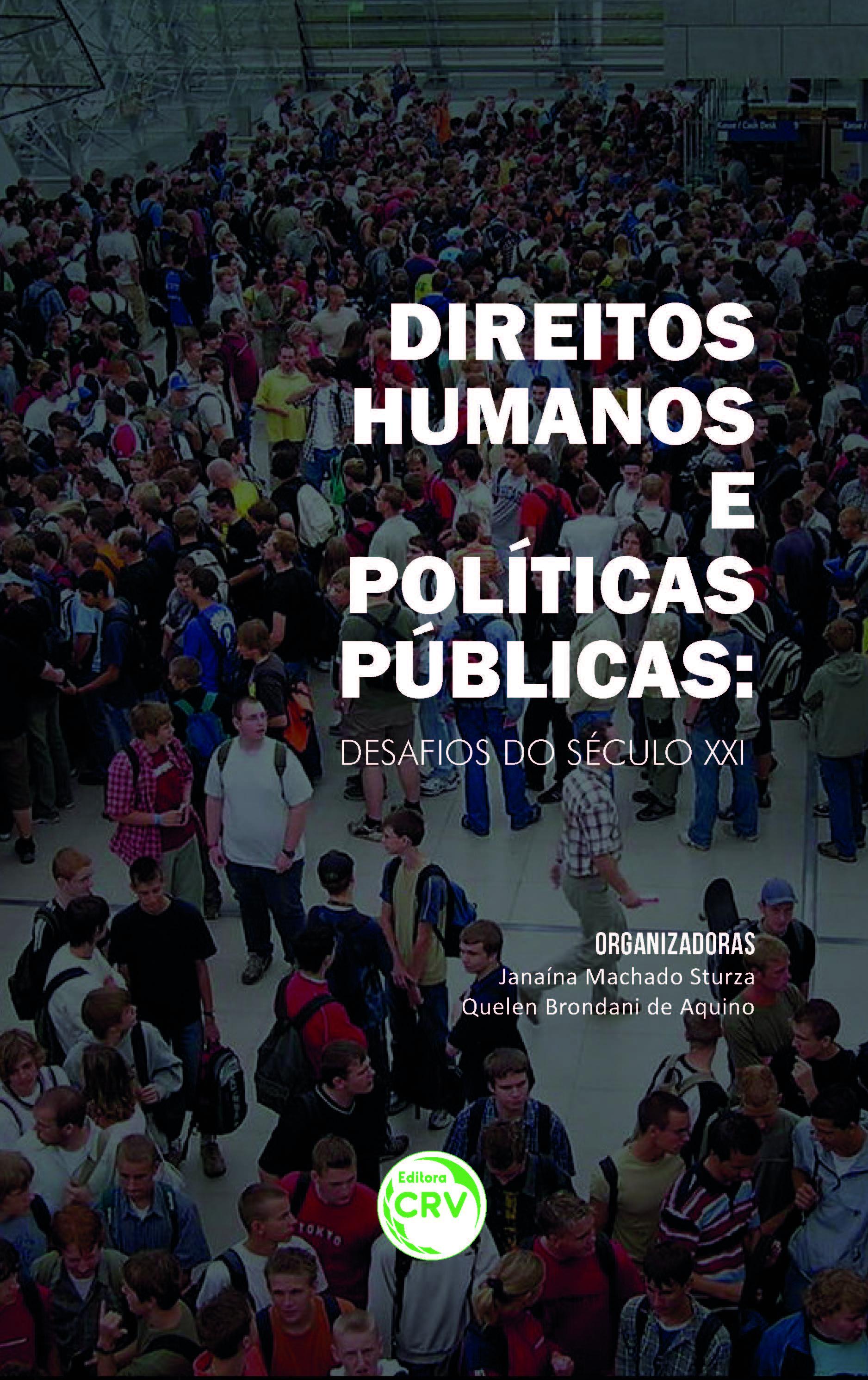 Capa do livro: DIREITOS HUMANOS E POLÍTICAS PÚBLICAS:<br>desafios do século XXI