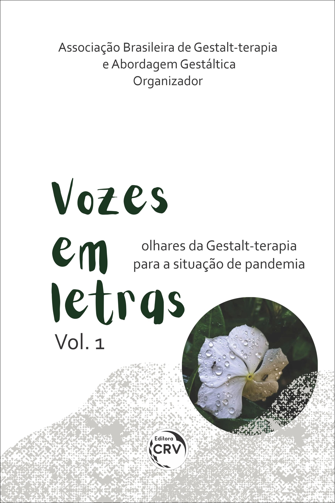 Capa do livro: VOZES EM LETRAS: <br>Olhares da Gestalt-terapia para a situação de pandemia