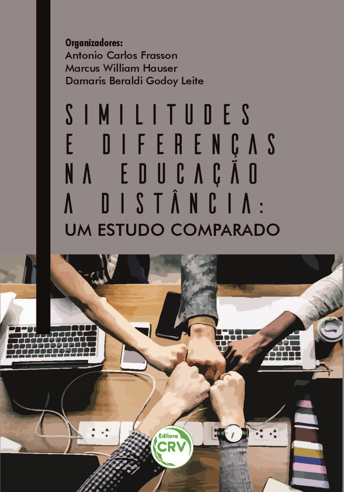 Capa do livro: SIMILITUDES E DIFERENÇAS NA EDUCAÇÃO A DISTÂNCIA:<br> um estudo comparado