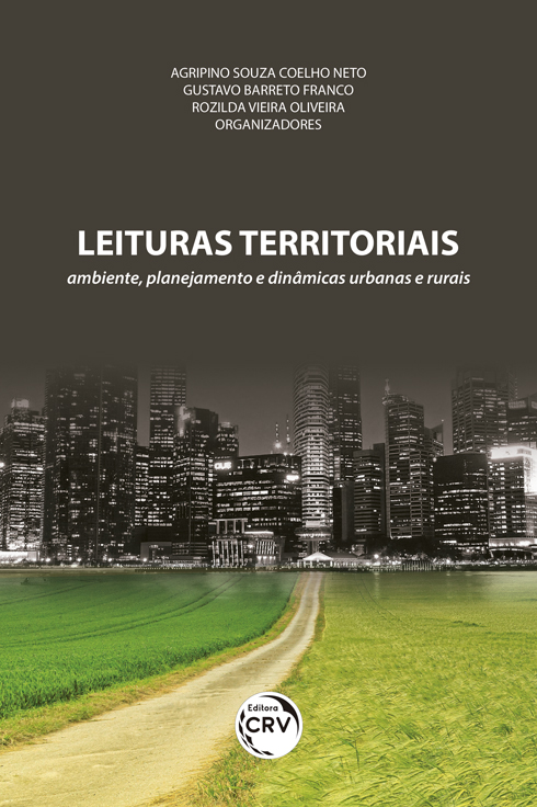 Capa do livro: LEITURAS TERRITORIAIS: <br>ambiente, planejamento e dinâmicas urbanas e rurais
