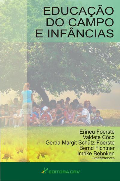 Capa do livro: EDUCAÇÃO DO CAMPO E INFÂNCIAS