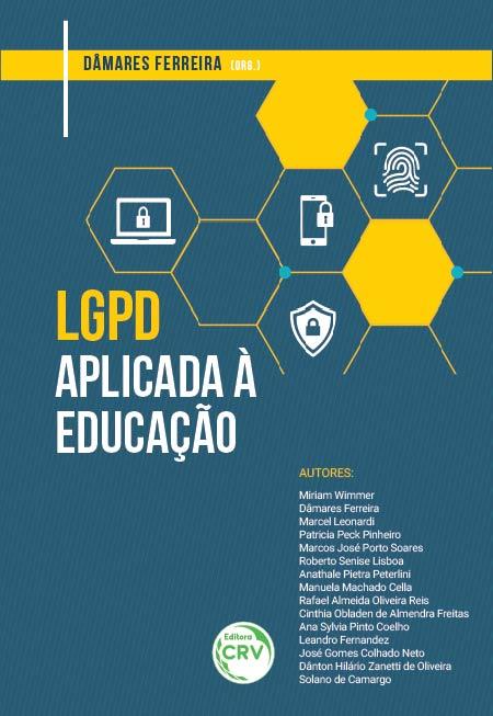 Capa do livro: LGPD APLICADA À EDUCAÇÃO
