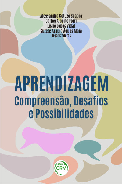 Capa do livro: APRENDIZAGEM: <br>compreensão, desafios e possibilidades <br> <a href=https://editoracrv.com.br/produtos/detalhes/34891-CRV>VER 2ª EDIÇÃO</a>