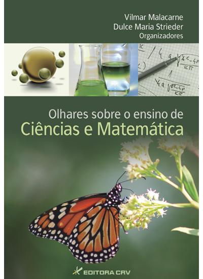 Capa do livro: OLHARES SOBRE O ENSINO DE CIÊNCIAS E MATEMÁTICA