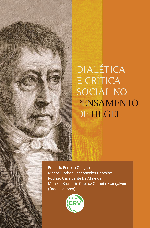 Capa do livro: DIALÉTICA E CRÍTICA SOCIAL NO PENSAMENTO DE HEGEL