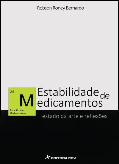 Capa do livro: ESTABILIDADE DE MEDICAMENTOS:<br>estado da arte e reflexões
