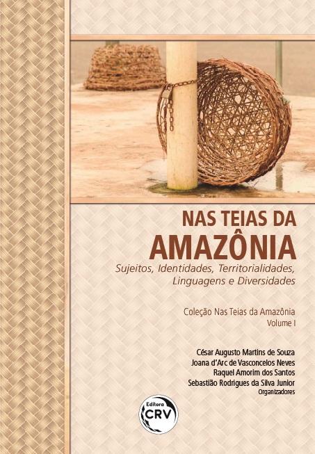 Capa do livro: NAS TEIAS DA AMAZÔNIA: <br>sujeitos, identidades, territorialidades, linguagens e diversidades <br> Coleção Nas Teias da Amazônia - Volume I