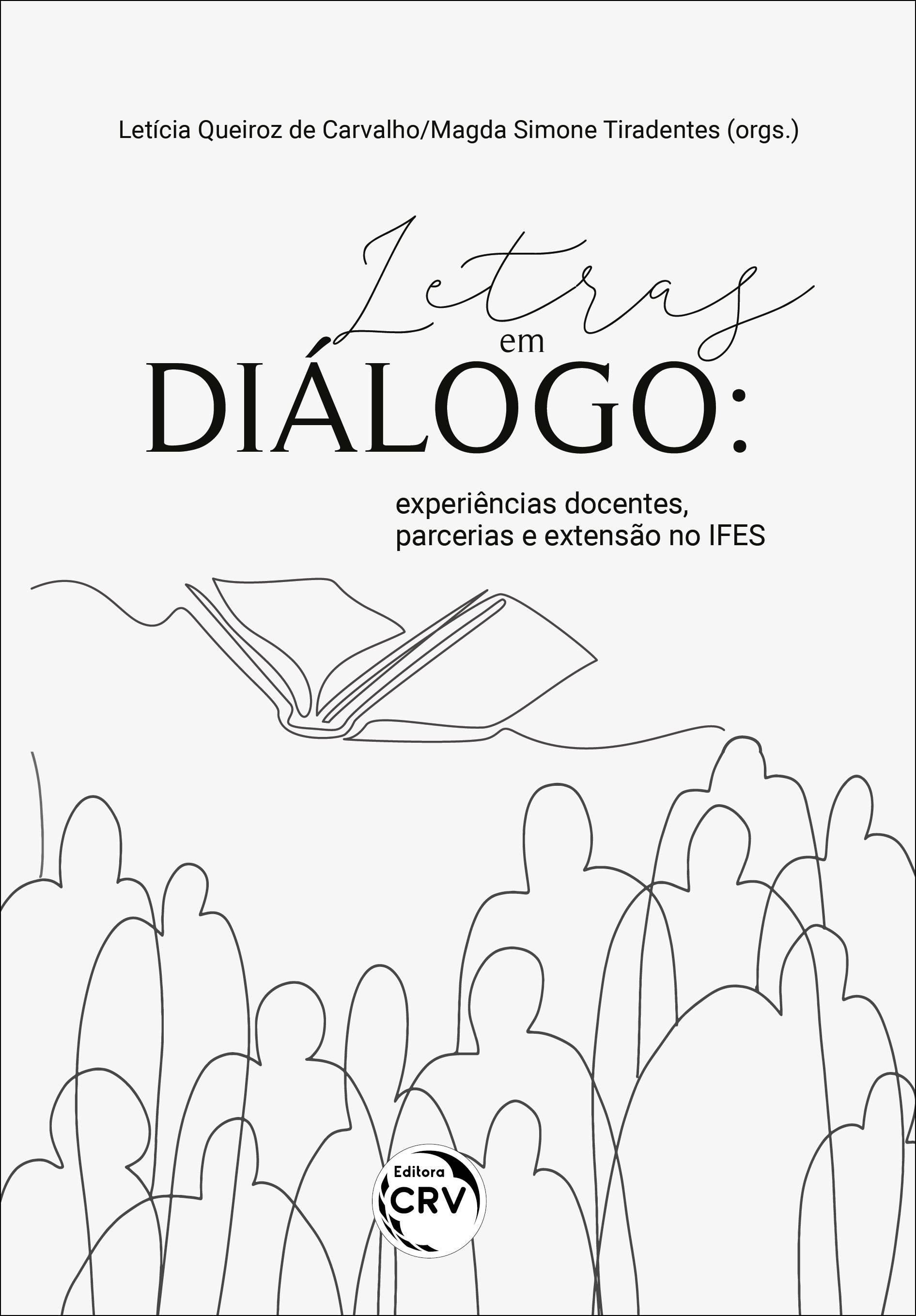 Capa do livro: LETRAS EM DIÁLOGO: <br>experiências docentes, parcerias e extensão no IFES