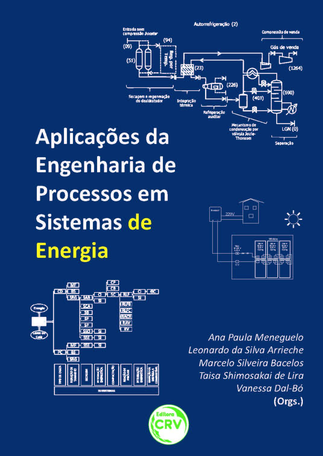 Capa do livro: APLICAÇÕES DA ENGENHARIA DE PROCESSOS EM SISTEMAS DE ENERGIA