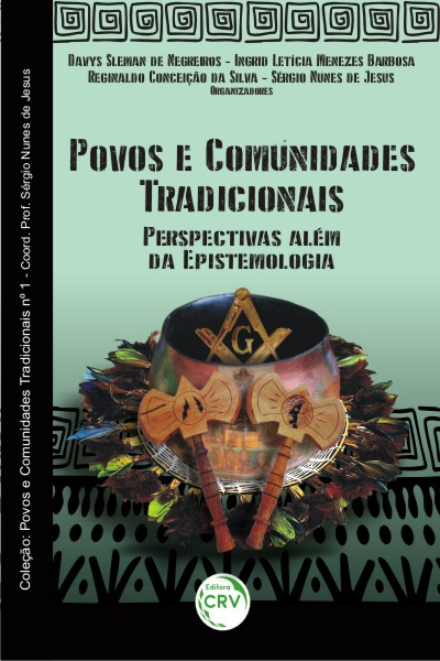 Capa do livro: POVOS E COMUNIDADES TRADICIONAIS:<br>perspectivas além da epistemologia<br>Coleção: Povos e Comunidades Tradicionais nº 1