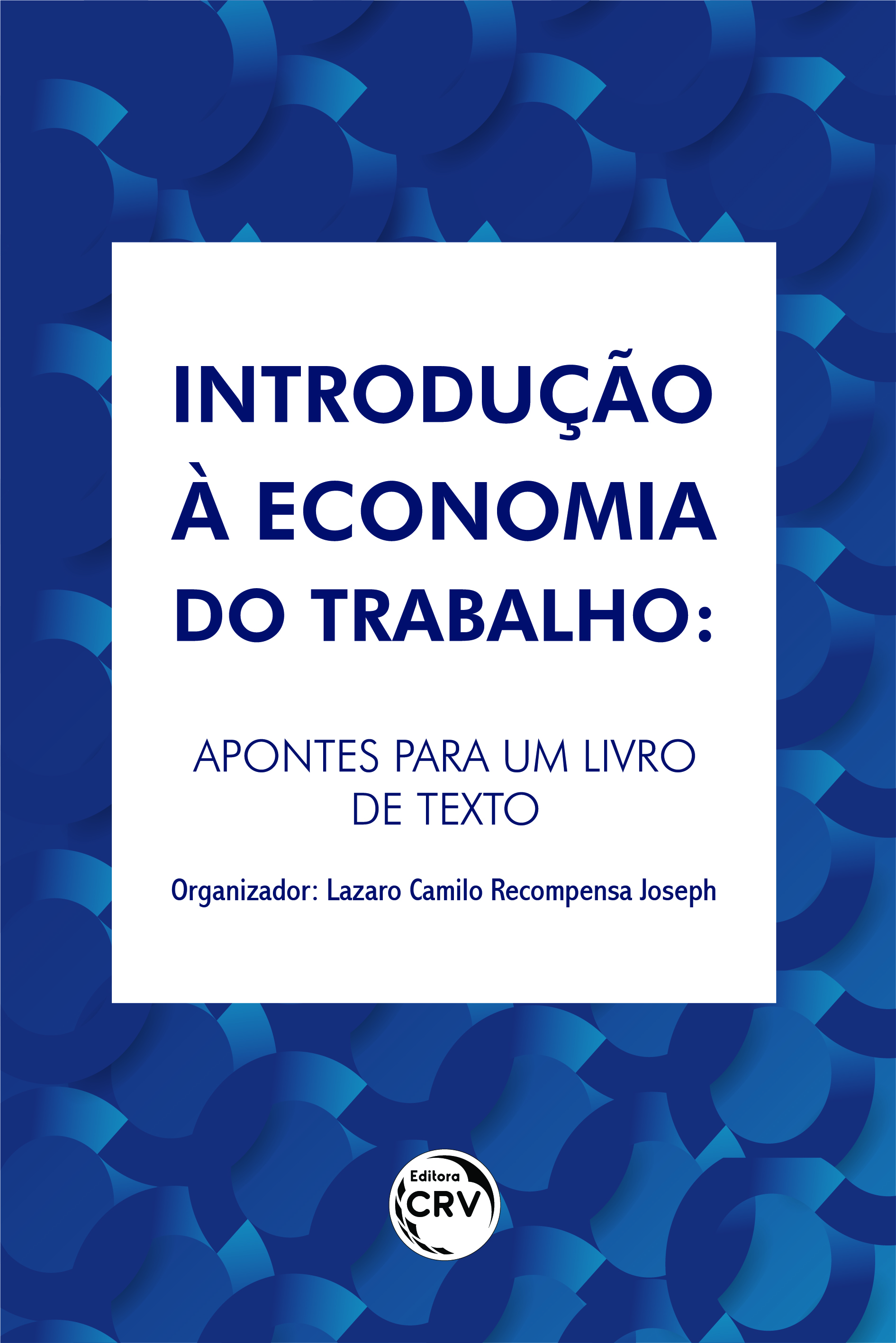 Capa do livro: INTRODUÇÃO À ECONOMIA DO TRABALHO:<br> Apontes para um livro de texto