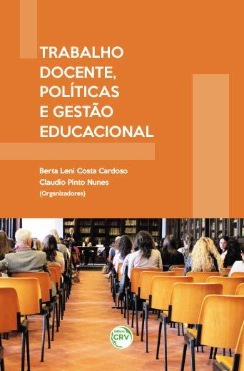 Capa do livro: TRABALHO DOCENTE, POLÍTICAS E GESTÃO EDUCACIONAL