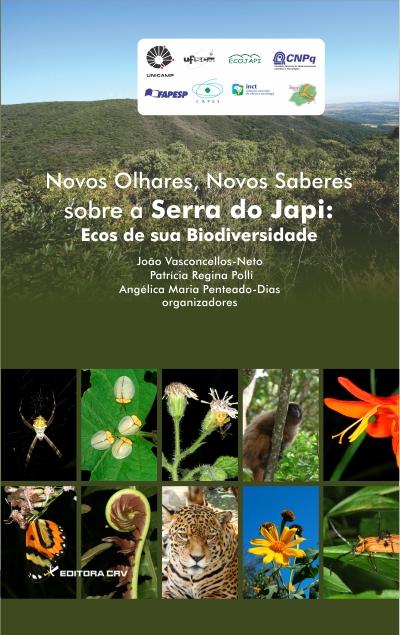Capa do livro: NOVOS OLHARES, NOVOS SABERES SOBRE A SERRA DO JAPI:<br>ecos de sua biodiversidade