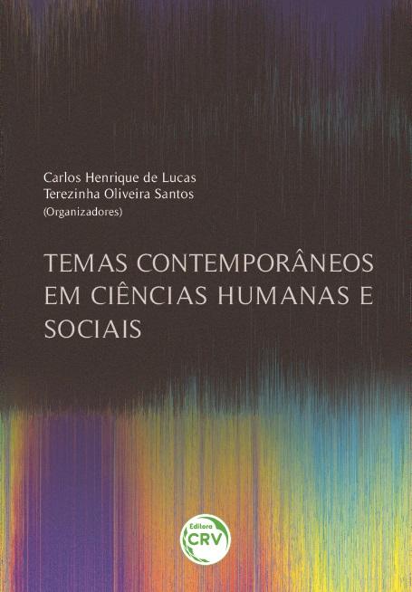 Capa do livro: TEMAS CONTEMPORÂNEOS EM CIÊNCIAS HUMANAS E SOCIAIS