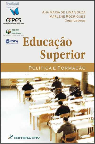 Capa do livro: EDUCAÇÃO SUPERIOR<br>Política e Formação