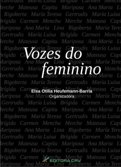Capa do livro: VOZES DO FEMININO