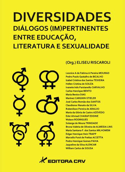 Capa do livro: DIVERSIDADES DIÁLOGOS (IM)PERTINENTES DE EDUCAÇÃO, LITERATURA E SEXUALIDADE
