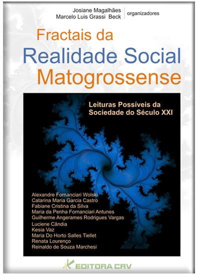 Capa do livro: FRACTAIS DA REALIDADE SOCIAL MATOGROSSENSE