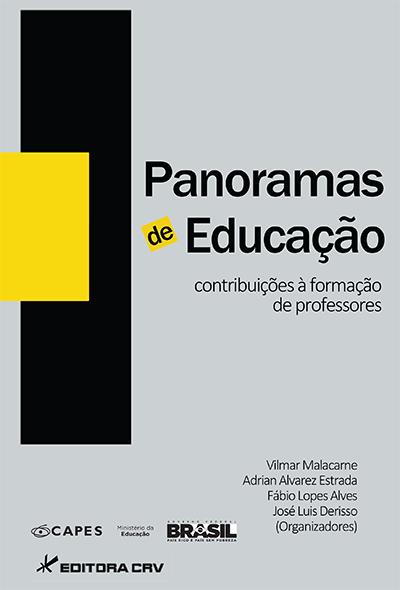 Capa do livro: PANORAMAS DE EDUCAÇÃO:<br>contribuições à formação de professores
