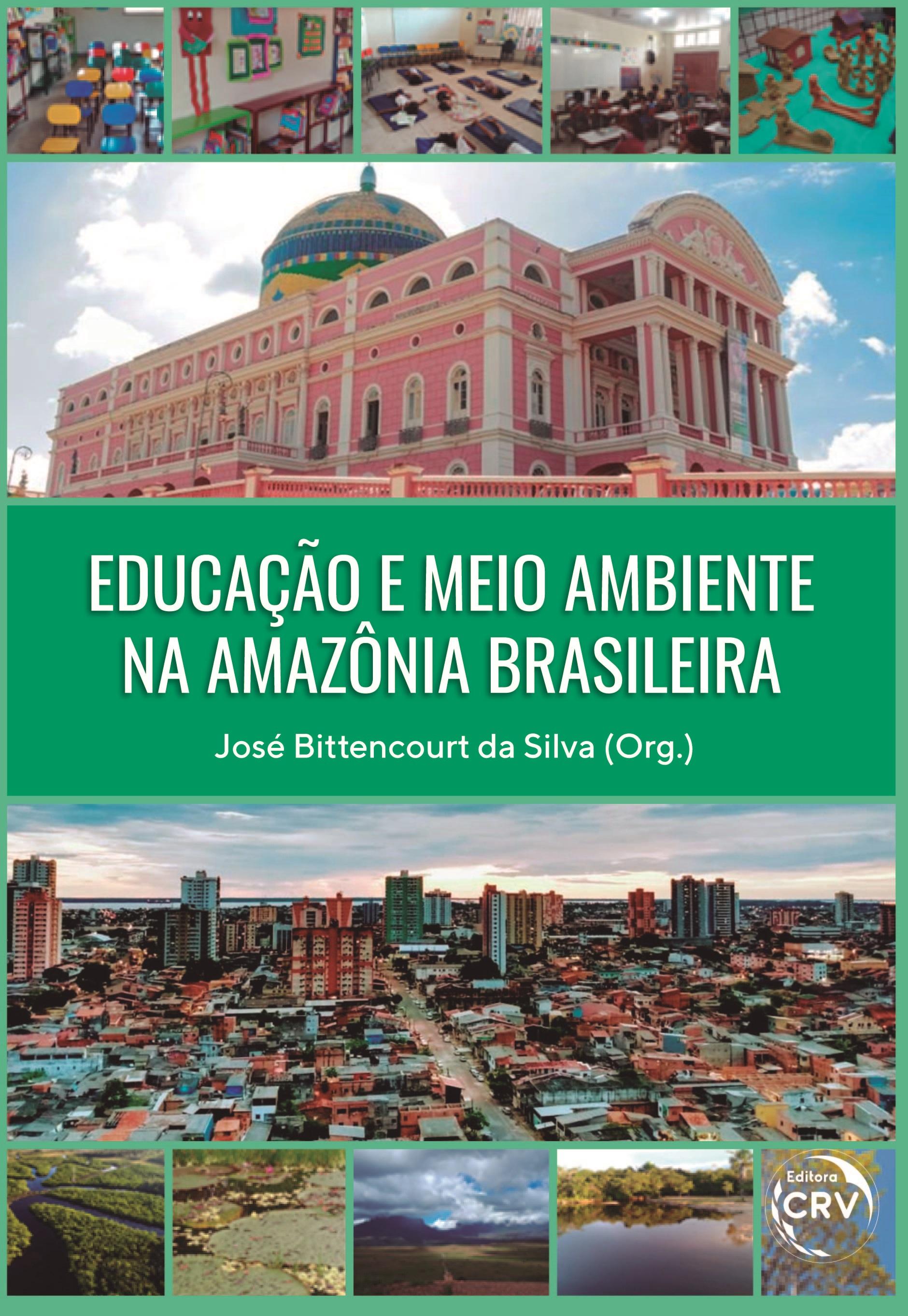 Capa do livro: EDUCAÇÃO E MEIO AMBIENTE NA AMAZÔNIA BRASILEIRA