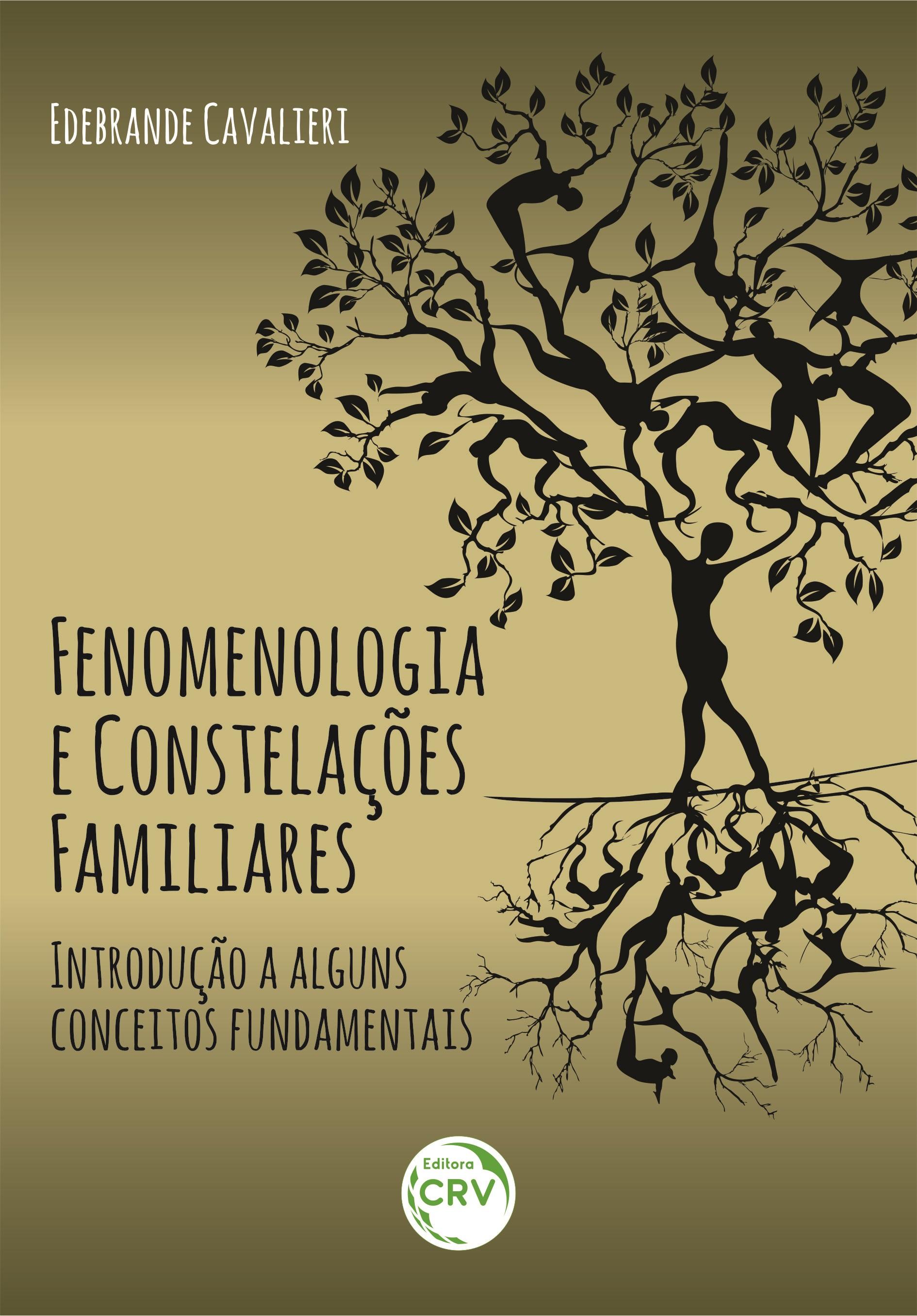 Capa do livro: FENOMENOLOGIA E CONSTELAÇÕES FAMILIARES: <br>introdução a alguns conceitos fundamentais