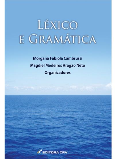 Capa do livro: LÉXICO E GRAMÁTICA