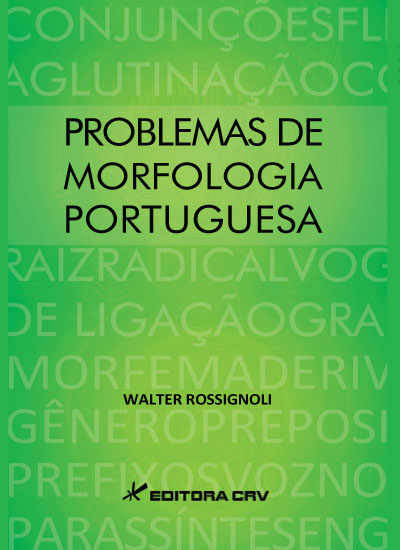 Capa do livro: PROBLEMAS DE MORFOLOGIA PORTUGUESA
