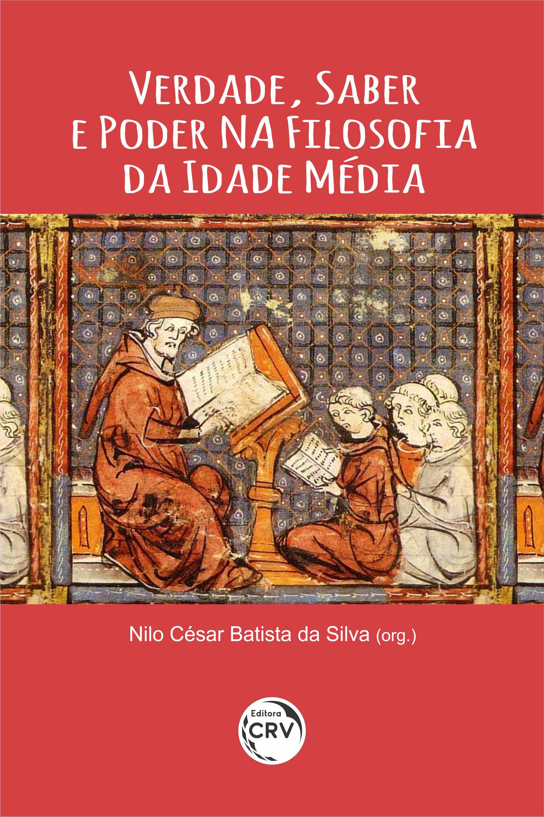 Capa do livro: VERDADE, SABER E PODER NA FILOSOFIA DA IDADE MÉDIA