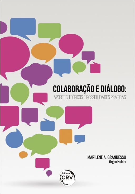Capa do livro: COLABORAÇÃO E DIÁLOGO: <br>aportes teóricos e possibilidades práticas