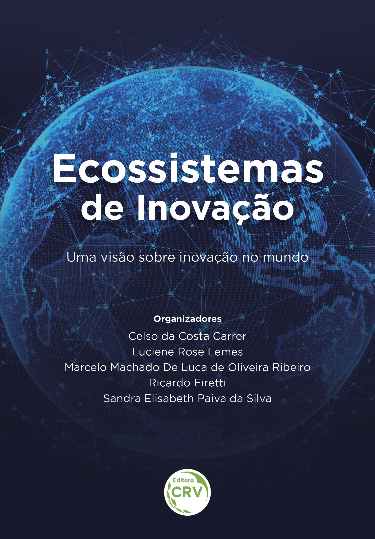 Capa do livro: ECOSSISTEMAS DE INOVAÇÃO