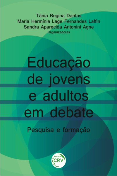 Capa do livro: EDUCAÇÃO DE JOVENS E ADULTOS EM DEBATE:<br> pesquisa e formação