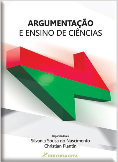 Capa do livro: ARGUMENTAÇÃO E ENSINO DE CIÊNCIAS