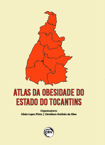 Capa do livro: ATLAS DA OBESIDADE DO ESTADO DO TOCANTINS
