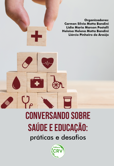 Capa do livro: CONVERSANDO SOBRE SAÚDE E EDUCAÇÃO: <br>práticas e desafios