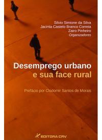 Capa do livro: DESEMPREGO URBANO E SUA FACE RURAL