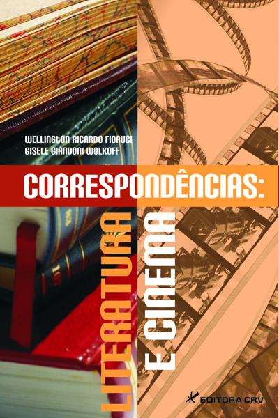 Capa do livro: CORRESPONDêNCIAS:<br>literatura e cinema