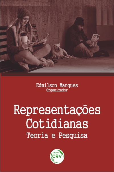 Capa do livro: REPRESENTAÇÕES COTIDIANAS:<br>teoria e pesquisa