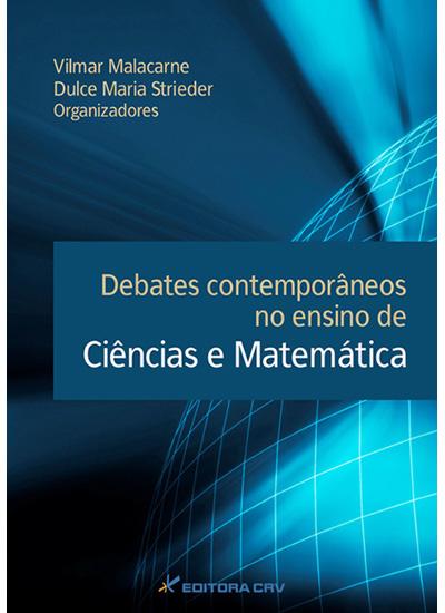 Capa do livro: DEBATES CONTEMPORÂNEOS NO ENSINO DE CIÊNCIAS E MATEMÁTICA