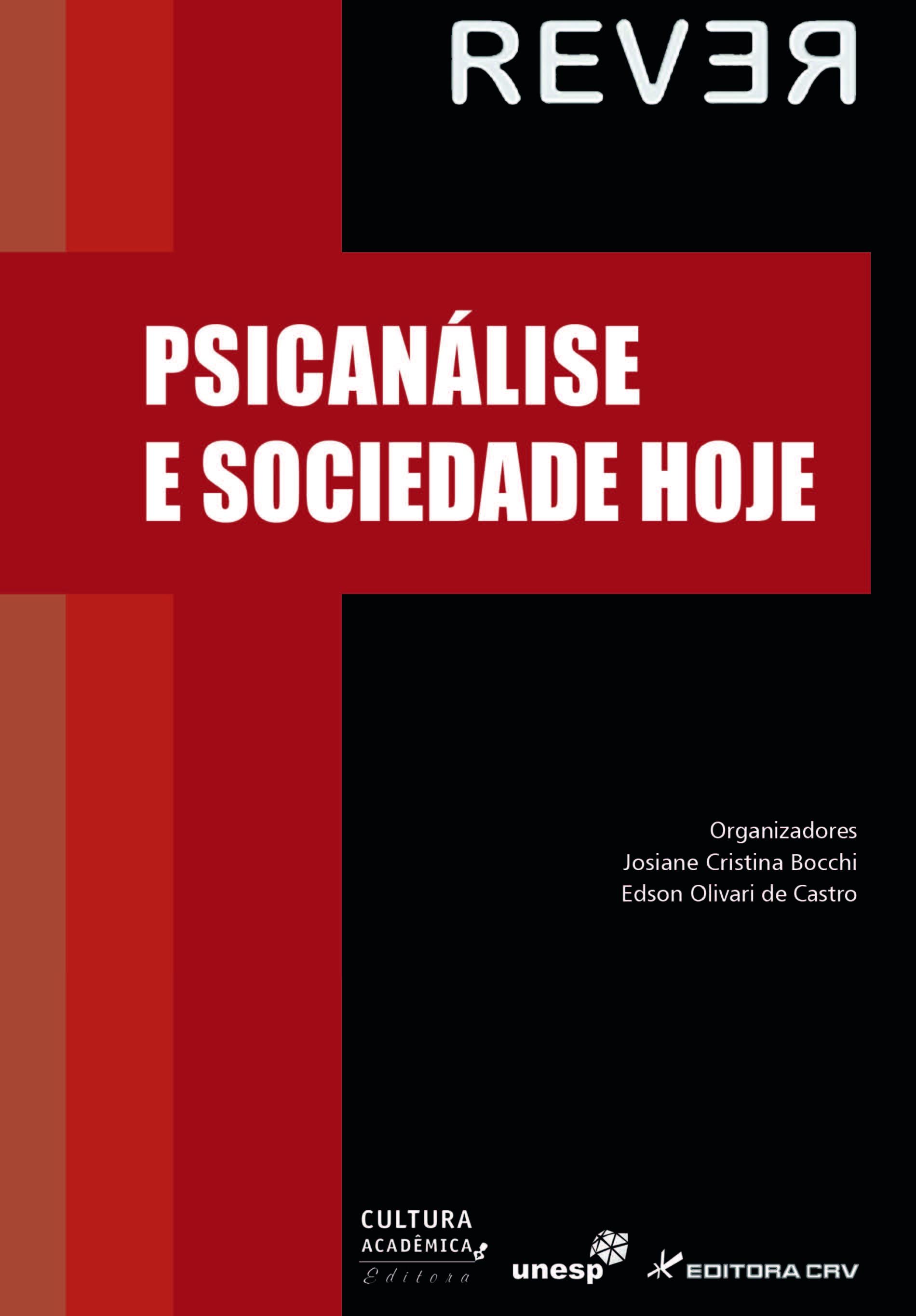 Capa do livro: PSICANÁLISE E SOCIEDADE HOJE