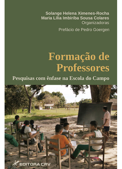 Capa do livro: FORMAÇÃO DE PROFESSORES:<br>pesquisas com ênfase na escola do campo