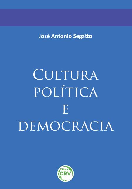 Capa do livro: CULTURA POLÍTICA E DEMOCRACIA