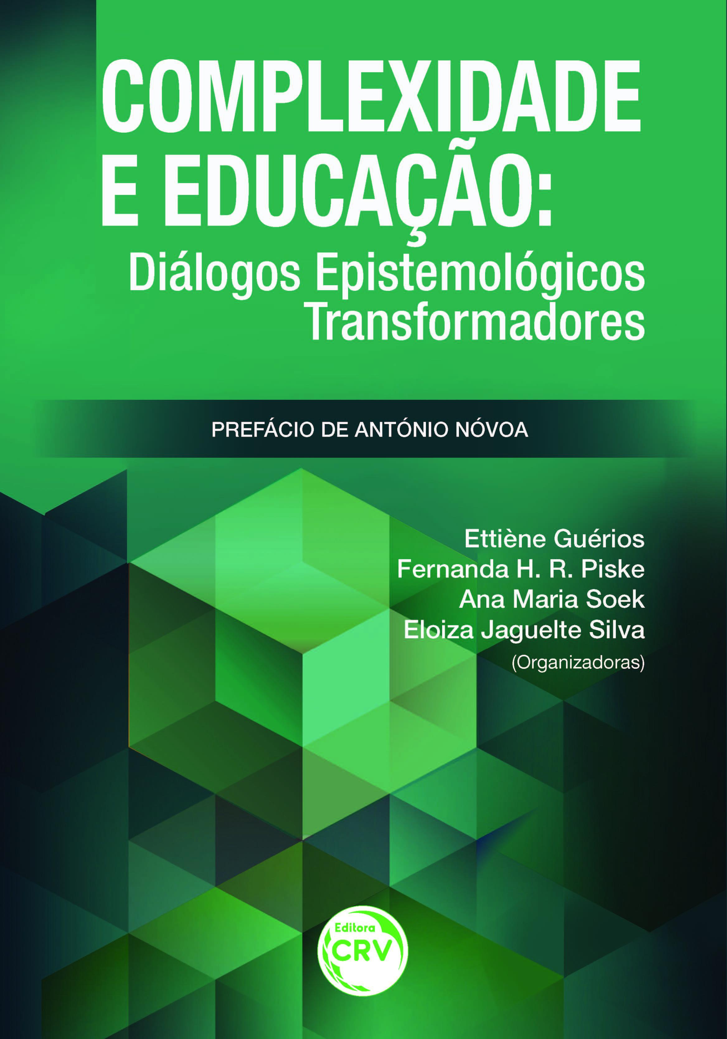 Capa do livro: COMPLEXIDADE E EDUCAÇÃO:<br>diálogos epistemológicos transformadores
