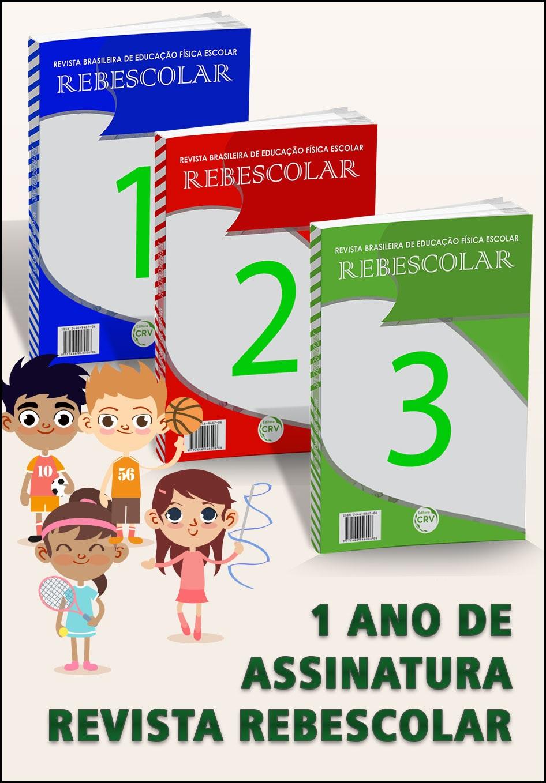 Capa do livro: ASSINATURA DE 1 ANO DA REVISTA REBESCOLAR = 3 REVISTAS