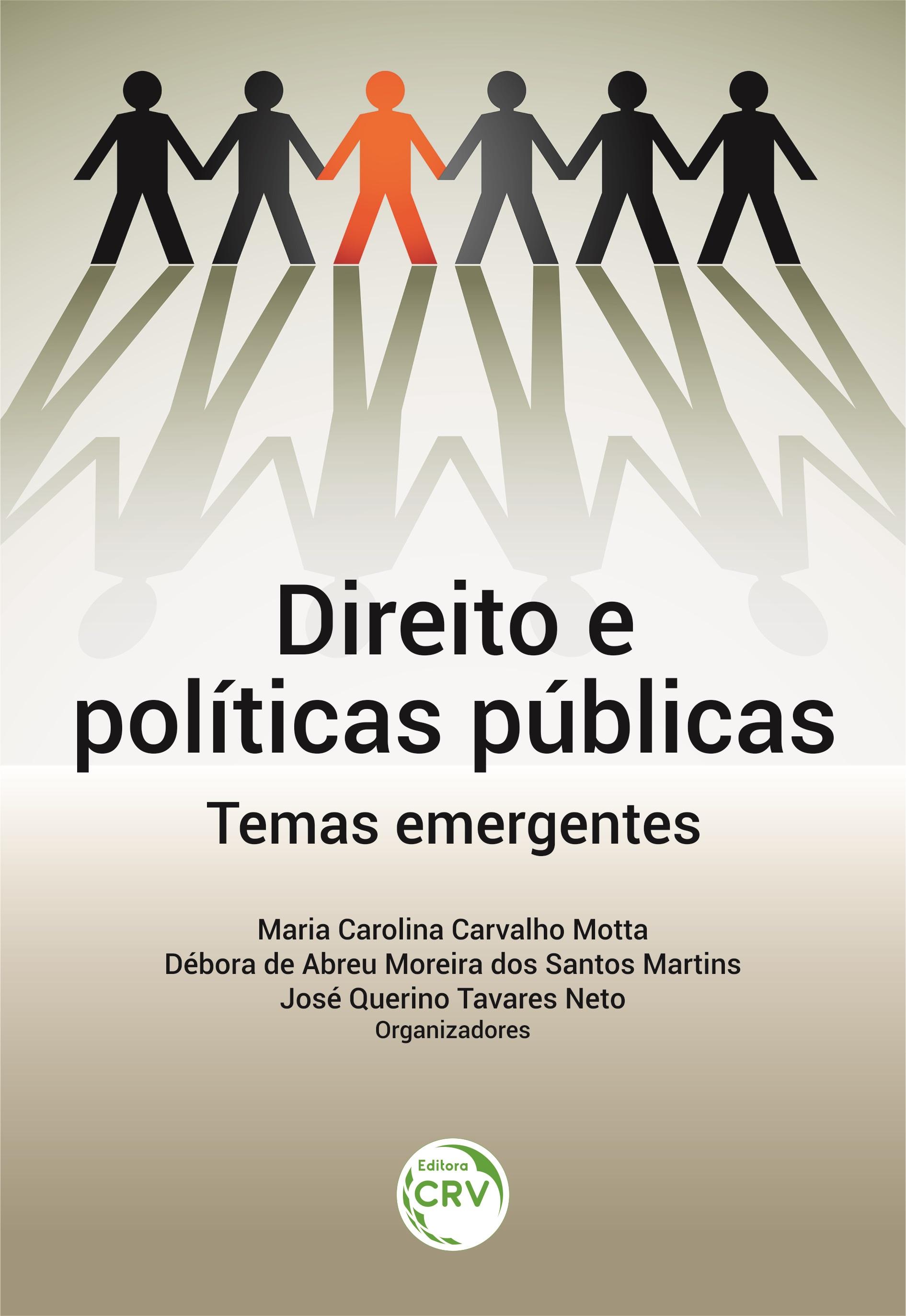 Capa do livro: DIREITO E POLÍTICAS PÚBLICAS: <br>temas emergentes