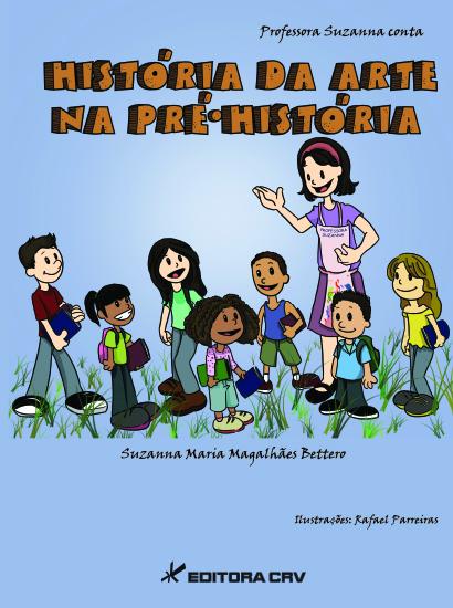 Capa do livro: HISTÓRIAS DA ARTE NA PRÉ-HISTÓRIA