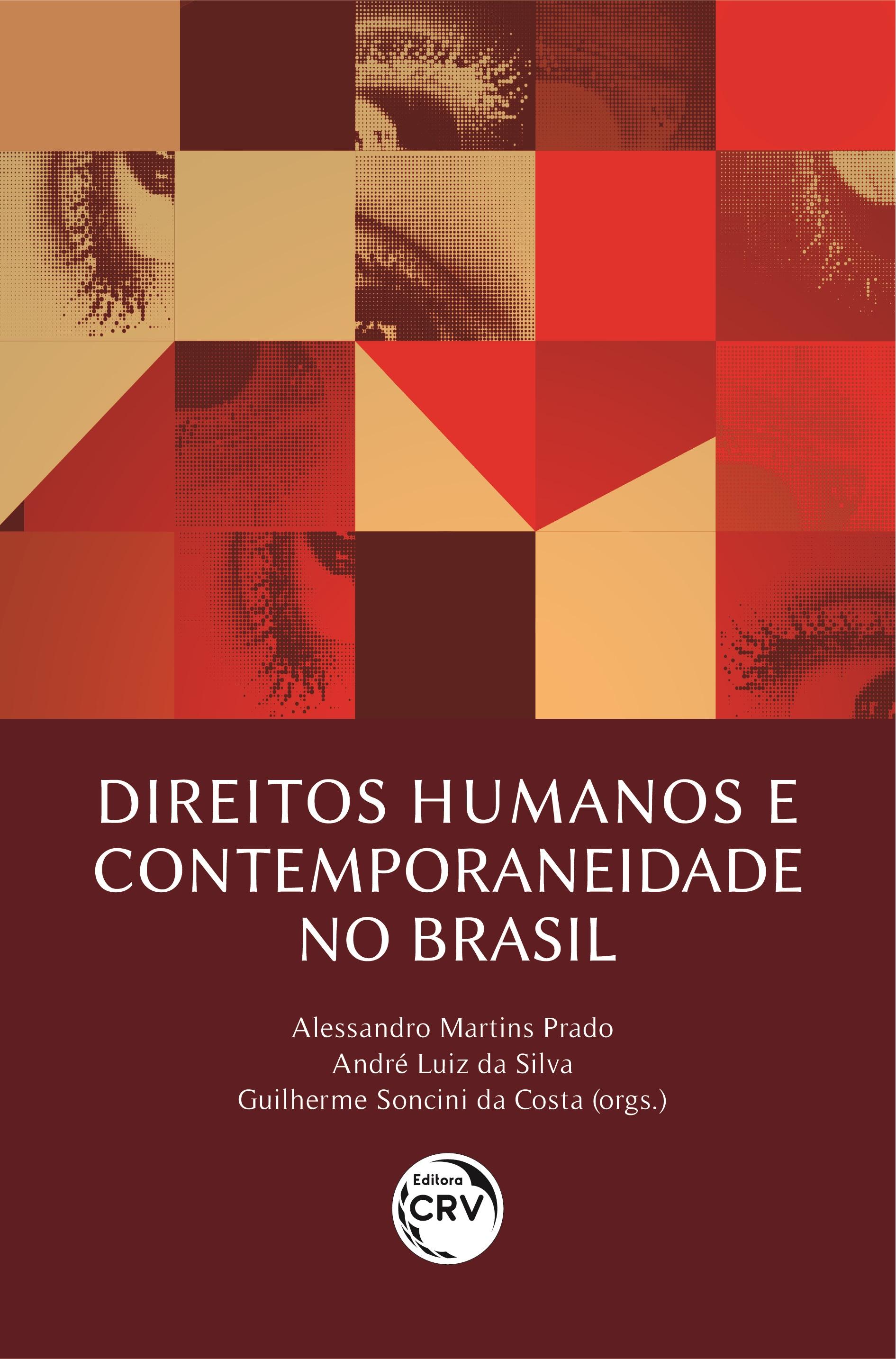 Capa do livro: DIREITOS HUMANOS E CONTEMPORANEIDADE NO BRASIL